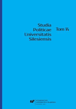 Okładka książki Studia Politicae Universitatis Silesiensis. T. 14