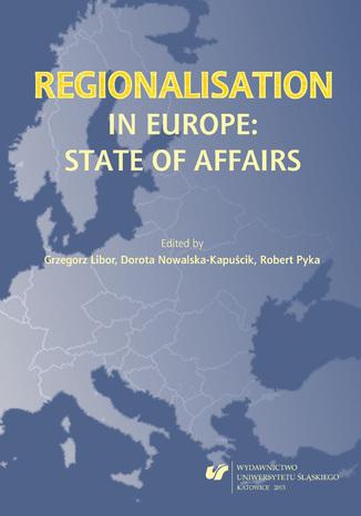 Okładka książki Regionalisation in Europe: The State of Affairs