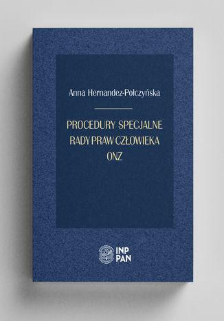 Okładka książki/ebooka Procedury specjalne rady Praw Człowieka ONZ