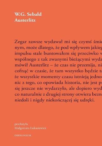 Okładka książki/ebooka Austerlitz