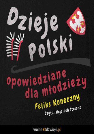 Okładka książki Dzieje Polski opowiedziane dla młodzieży