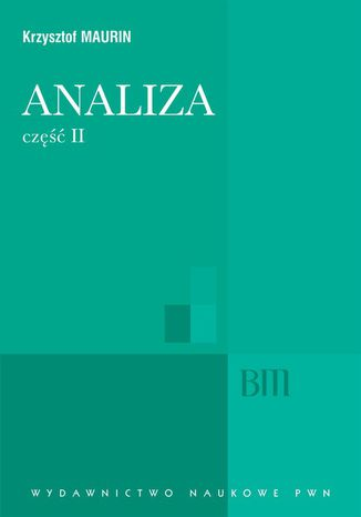Okładka książki/ebooka Analiza, cz. 2