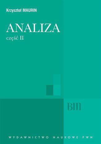 Okładka książki Analiza, cz. 2