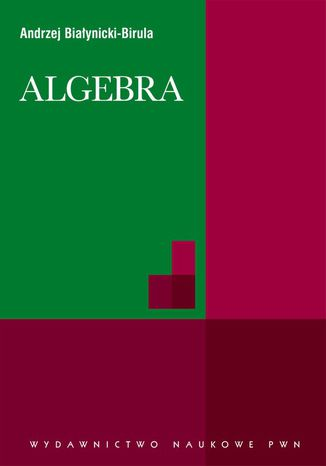 Okładka książki/ebooka Algebra