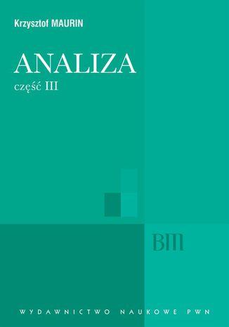 Okładka książki Analiza, cz. 3