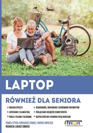 Okładka książki/ebooka Laptop również dla seniora