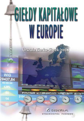 Okładka książki Giełdy kapitałowe w Europie