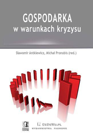Okładka książki Gospodarka w warunkach kryzysu