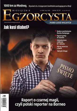 Okładka książki Miesięcznik Egzorcysta 66 (2/2018)
