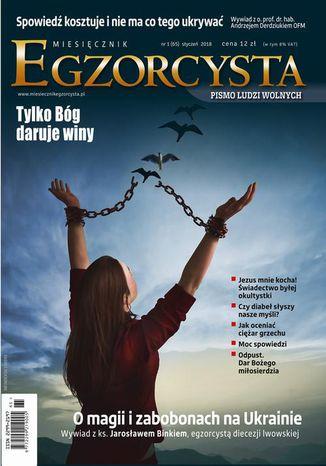 Okładka książki Miesięcznik Egzorcysta Styczeń 2018 (65)