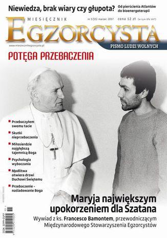 Okładka książki/ebooka Miesięcznik Egzorcysta 55 (marzec 2017)