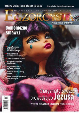 Okładka książki Miesięcznik Egzorcysta 74 (październik 2018)