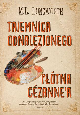 Okładka książki/ebooka Verlaque i Bonnet na tropie (Tom 5). Tajemnica odnalezionego płótna Cezanne'a
