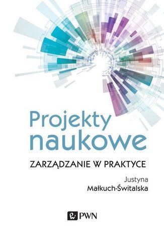 Okładka książki Projekty naukowe
