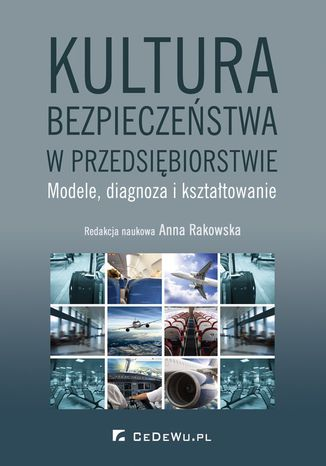 Okładka książki Kultura bezpieczeństwa w przedsiębiorstwie. Modele, diagnoza i kształtowanie