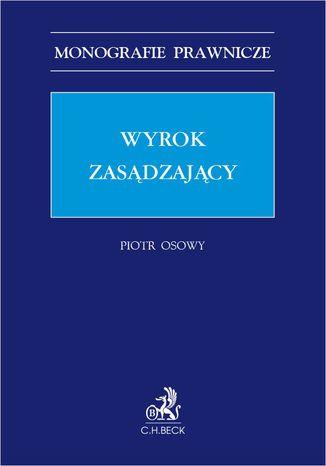 Okładka książki Wyrok zasądzający
