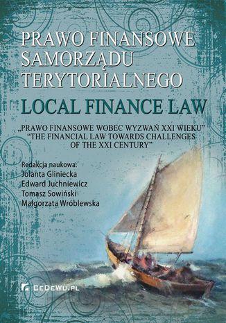Okładka książki Prawo finansowe samorządu terytorialnego