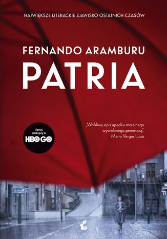 Okładka książki Patria (wyd. filmowe)