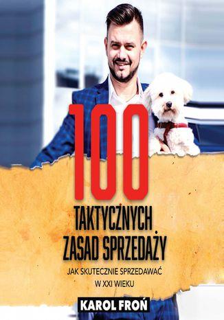Okładka książki 100 taktycznych zasad sprzedaży