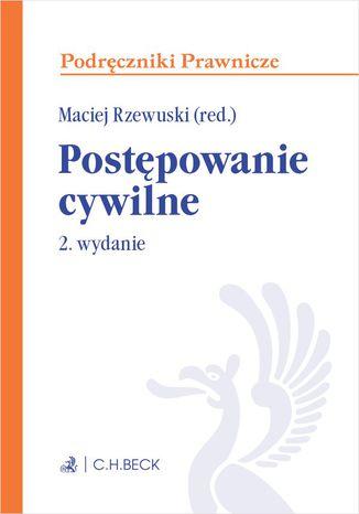 Okładka książki/ebooka Postępowanie cywilne. Wydanie 2