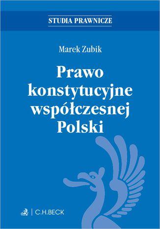 Okładka książki/ebooka Prawo konstytucyjne współczesnej Polski