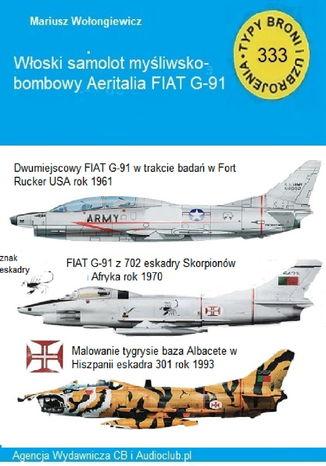 Okładka książki samolot wielozadaniowy FIAT G-91