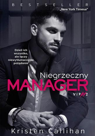 Okładka książki/ebooka Niegrzeczny manager