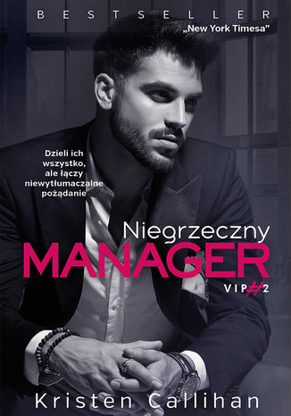 Okładka książki Niegrzeczny manager