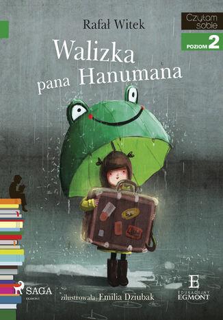 Okładka książki I am reading - Czytam sobie. Walizka pana Hanumana