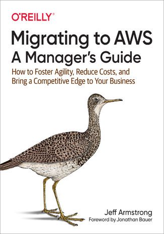 Okładka książki/ebooka Migrating to AWS: A Manager's Guide. How to Foster Agility, Reduce Costs, and Bring a Competitive Edge to Your Business
