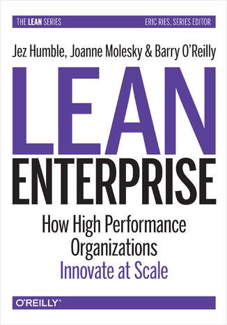 Okładka książki/ebooka Lean Enterprise