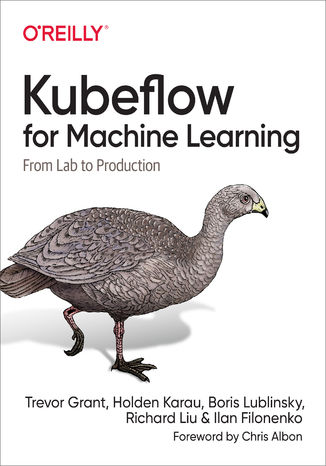 Okładka książki/ebooka Kubeflow for Machine Learning
