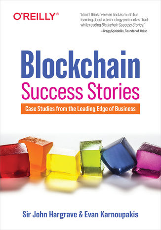 Okładka książki Blockchain Success Stories