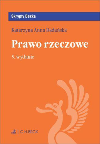 Okładka książki/ebooka Prawo rzeczowe. Wydanie 5