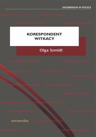 Okładka książki/ebooka Korespondent Witkacy