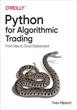 Okładka książki/ebooka Python for Algorithmic Trading