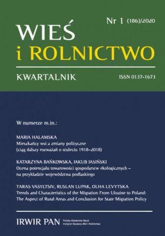 Okładka książki/ebooka Wieś i Rolnictwo nr 1(186)/2020