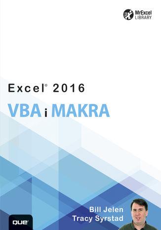 Okładka książki Excel 2016 VBA i makra