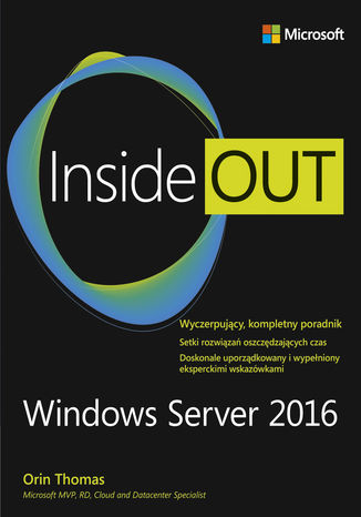 Okładka książki Windows Server 2016 Inside Out