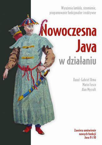 Okładka książki/ebooka Nowoczesna Java w działaniu