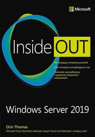 Okładka książki/ebooka Windows Server 2019 Inside Out