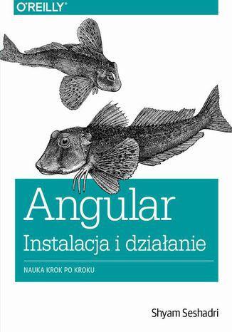 Okładka książki/ebooka Angular instalacja i działanie