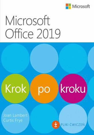 Okładka książki/ebooka Microsoft Office 2019 Krok po kroku
