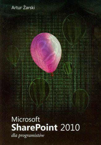 Okładka książki Microsoft SharePoint 2010 dla programistów