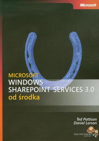 Okładka książki/ebooka Microsoft Windows SharePoint Services 3.0 od środka