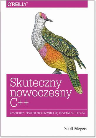 Okładka książki/ebooka Skuteczny nowoczesny C++