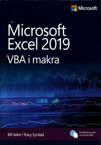 Okładka książki/ebooka Microsoft Excel 2019: VBA i makra