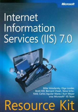 Okładka książki/ebooka Microsoft Internet Information Services (IIS) 7.0 Resource Kit