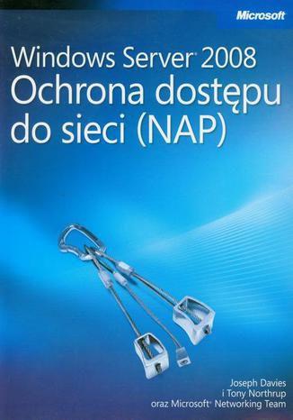 Okładka książki/ebooka Windows Server 2008 Ochrona dostępu do sieci NAP