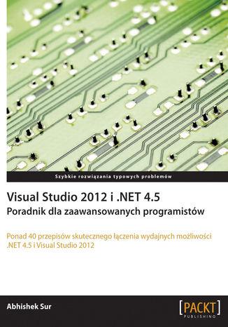 Okładka książki/ebooka Visual Studio 2012 i .NET 4.5. Poradnik dla zaawansowanych programistów